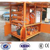 防水完全な自動真空のタービン油純化器オンラインWorrking