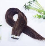 Estensione brasiliana di trama dei capelli del nastro di Remy della pelle dell'unità di elaborazione