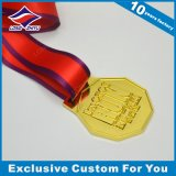 Медаль 2015 выдвиженческих восхитительных медалей металла глянцеватое атлетическое