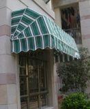 Hc-Fw01 het Franse Afbaarden van de Winkel van de Koffie van het venster of van de Ingang