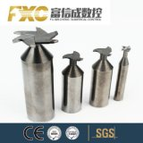 Fxcの固体炭化物標準外TスロットHSS端製造所