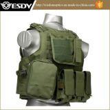 Tan Color Tactical Molle Vest con il serbatoio di acqua di Hydration