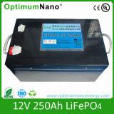 Batteria profonda del ciclo LiFePO4 12V 250ah per il campeggiatore Van