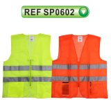 Vestes reflexivas de venda quentes da segurança clássica elevada de Visiblity (SP0602)