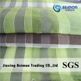 Il fornitore cinese 12mm 15%Silk 85%Cotton Nervatura-Arresta il tessuto della camicia