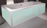 Bañera superficial sólida de la capacidad grande