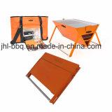 Gril de Multi-Buts dans la valise pliable de pique-nique conçue