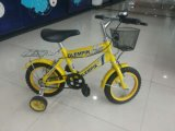 Ly 005와 가진 노란 사랑스러운 아이들 자전거