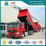 Sinotruk HOWO 6X4 che capovolge camion 371HP dell'euro II