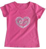 Тенниска детей девушки сердца способа в одежде Sgt-083 износа малышей