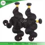 Необработанные двойной Weft ослабление волн прав Virgin волос