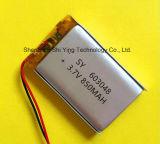 영상 펜 DVD GPS 기록병 PSP MP3를 위한 3.7V Li Po 중합체 건전지 800mAh