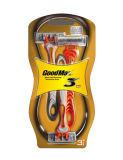 Dreifaches Schaufel-Rasiermesser in der Sichtpackung (SL-3105TL)