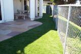 Tappeto erboso artificiale ad alta densità di plastica di paesaggio dell'erba 2015 esterno
