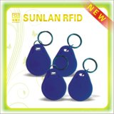 13.56MHz Rewritable ABS Mf1 1k RFID Keychain /Key Tag /Keyfob mit Free Samples