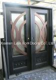 Portello di entrata doppio esterno di Secutity del ferro saldato con l'alta qualità
