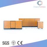 적당한 가격 고아한 디자인 낮은 내각 사무용 가구 나무로 되는 책장 (CAS-FC1803)