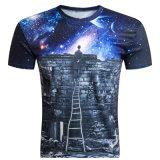 3D에 의하여 인쇄되는 셔츠 t-셔츠 우연한 Crossfit 압축 t-셔츠의 최신 판매 새로운 남자