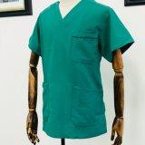 Uniforme chaud d'hôpital de vert de vente