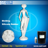 Alta resistência ao rasgo de borracha de silicone líquido para o GRC/Grg/Gfrc/moldagem de plástico reforçado por fibra