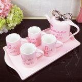 Insiemi di ceramica della tazza di tè di tolleranza del regalo della tazza di caffè della porcellana creativa all'ingrosso della tazza