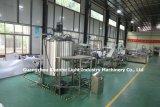 Bouteille de liquide de remplissage automatique de la machine avec plafonnement de la ligne de production d'étiquetage