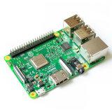 Raspberry Pi 3 Modèle B Conseil 1GO LPDDR2 bcm2837 à quadruple coeur de la PI3 RAS B, PI 3b, PI 3 B avec WiFi et Bluetooth (élément14 2016 Nouvelle version)