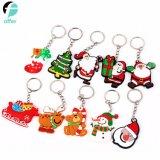 Santa Claus Trousseau trousseau de clés de Noël porte la chaîne de clé de voiture Tags Birthday Party en faveur des dons de fournitures pour les enfants