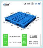 1200*1000, 1200*1200, 1400*1200 fábrica do lado dois grossistas/dupla face de paletes plásticos HDPE/Bandeja