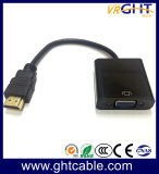 A ligação HDMI para HDMI adaptador VGA macho para fêmea VGA DO CATALISADOR