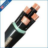 Kv 0.6/1VV PVC à double isolation de câble d'alimentation en cuivre du fil électrique