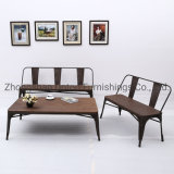 Mobilia americana moderna della mobilia del caffè dell'annata della Tabella di Tolix del banco e della Tabella della presidenza del ristorante della presidenza impostata (SP-CT772)