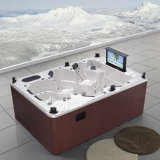 Rectangle Luxe Spa Rectangulaire Hot Tub Home Whirlpool SPA