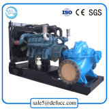 Bomba de agua centrífuga del aumentador de presión de alta presión del motor diesel de la succión doble