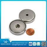 Magneti/tazza del POT del neodimio dei magneti con svasato