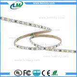los 9.6W/M SMD3528 adelgazan tiras del LED con anchura del PWB de 5m m