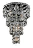 Phine Gruppen-Decken-Lampe mit Glasfarbton-Anhänger PC-0045