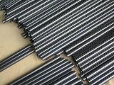 Tubo caliente de la aduana de la fibra del carbón 3k