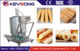 Fabricante enchido núcleo soprado comercial da máquina da transformação de produtos alimentares da máquina dos petiscos do milho
