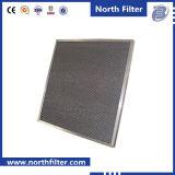 Filtre à air en aluminium de filtre de filet à mailles en métal de climatiseur de bâti