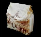 Zoll gedruckte französische Papiertüten der Brotverpackung-Kraftpapier mit Fenster
