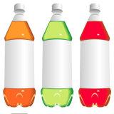 Halbautomatische runde Flaschen-druckempfindlicher Kleber-Etikettiermaschine