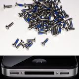 Мобильный телефон Spareparts Bottom Screws Replacement Mobile оригинала 100% для Apple iPhone4 и 4s