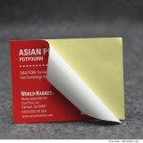 Caixa de cosméticos em forma redonda Kraft Brown Sticker