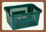 Sale를 위한 Plastic Handles를 가진 휴대용 Colored Plastic Supermarket Basket