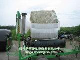 Chaud ! Enveloppe de balle de foin à vendre 750mm/500m/250mm UV blancs, noirs et verts de couleur anti