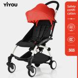 Neugeborenes Spaziergänger-Luxuxbaby-faltbarer SäuglingsSpaziergänger für Arbeitsweg-Systeme