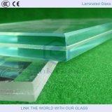 Glace stratifiée de verres de sûreté/sandwich/verre feuilleté