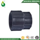 Schwarze Plastikbewässerung-Polyrohrfitting-Verbinder