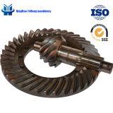 BS5050 8/39 정밀도 금속 트럭 기어 자동 차축 후방 드라이브 차축 나선 비스듬한 기어